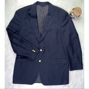 Brooks Brothers 346 Blazer Sport Coat 43L wool